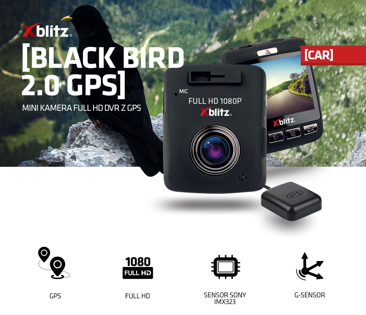Kamera samochodowa Xblitz Black Bird 2.0