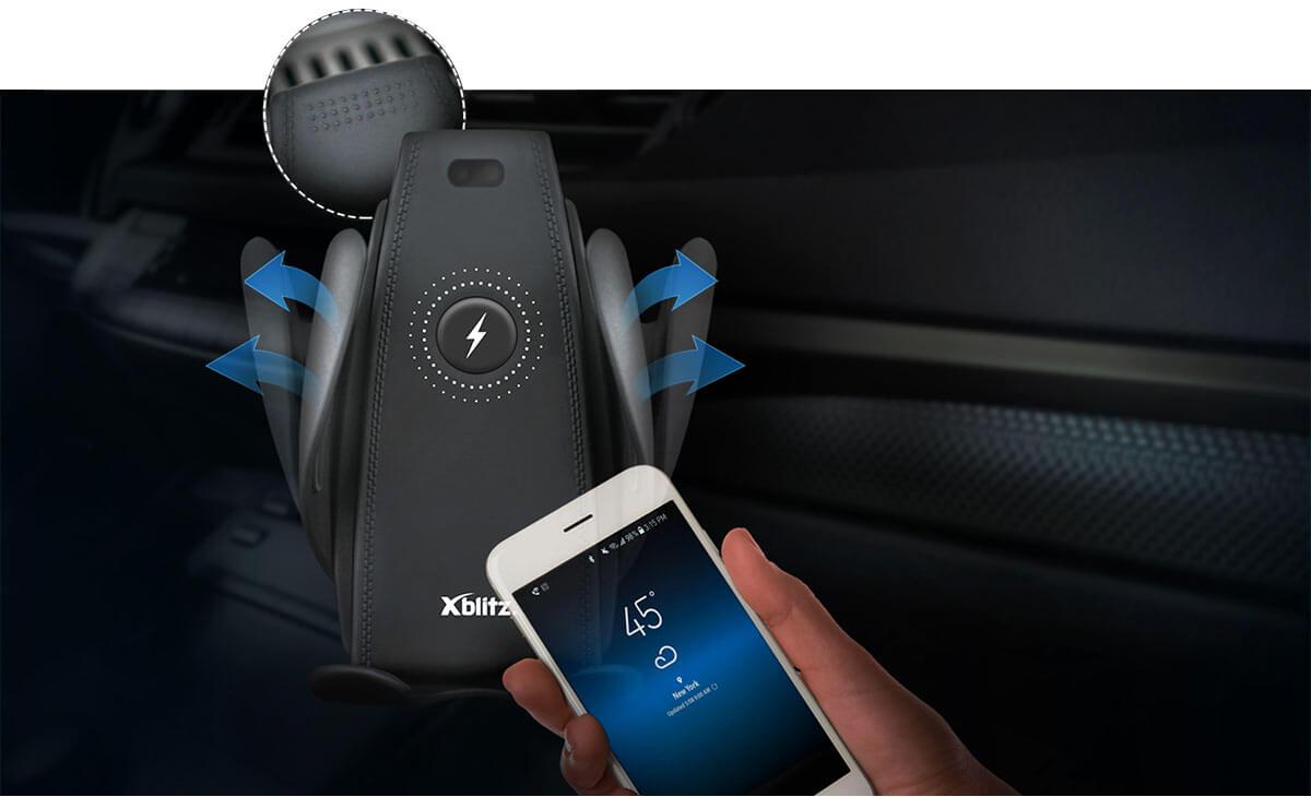 Inteligentny czujnik w uchwycie samochodowym G550