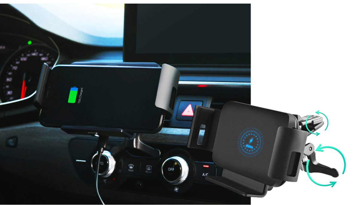 Xblitz G950 PRO Car Holder with QI technology