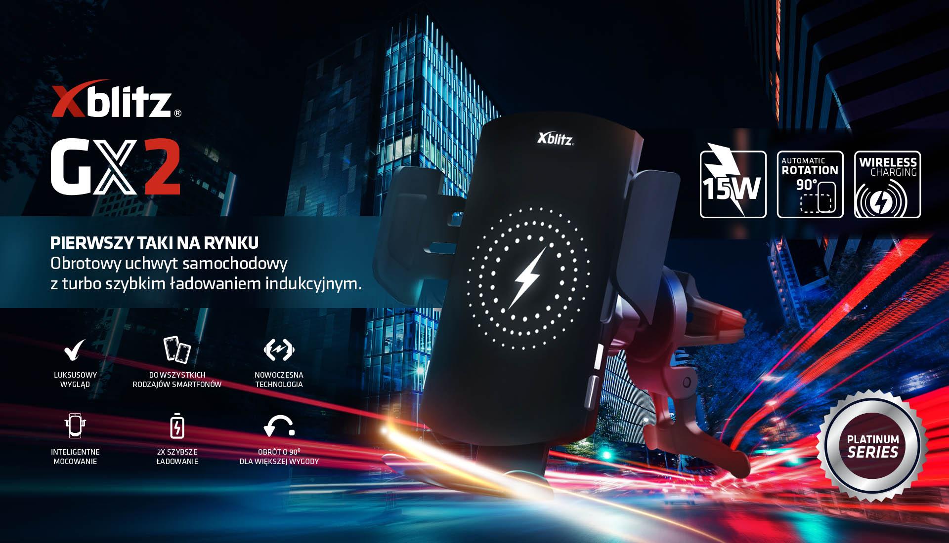 Xblitz GX2 - innowacyjny uchwyt