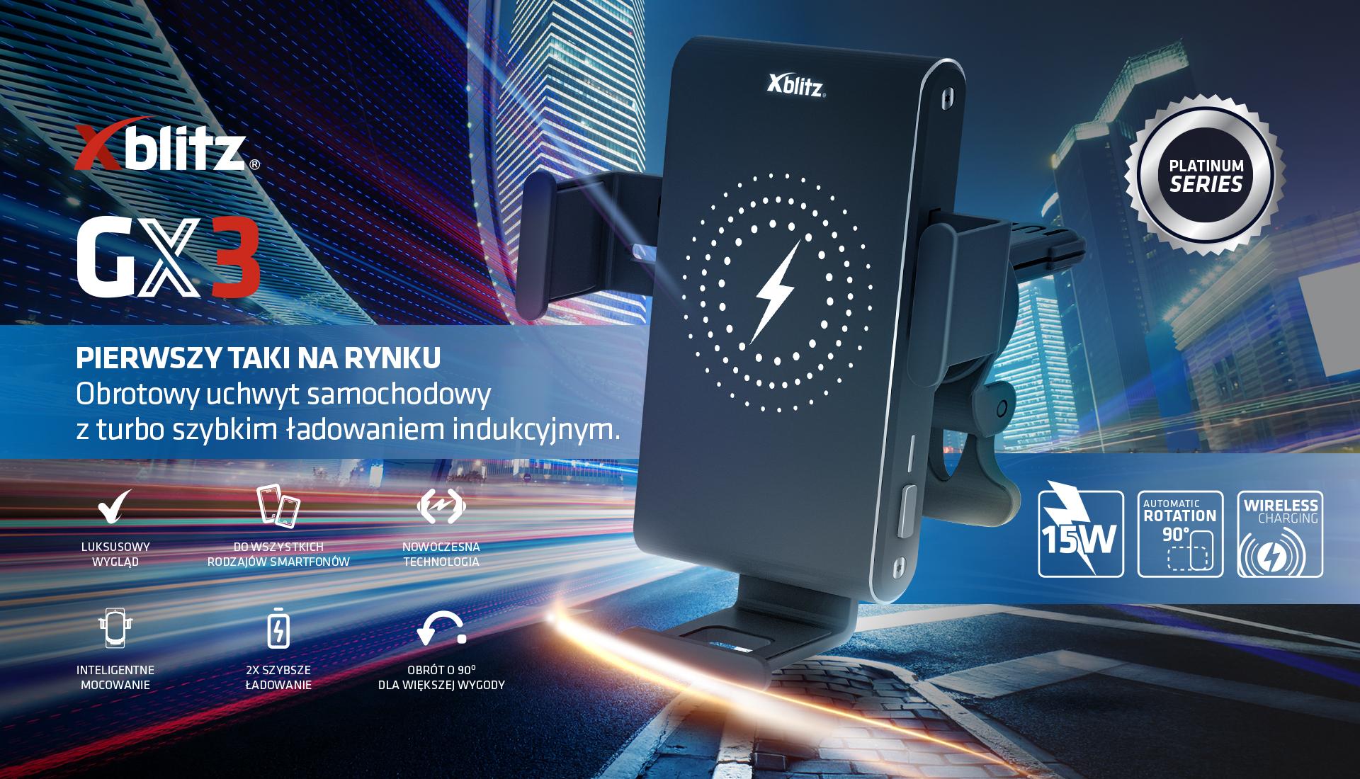 Xblitz GX3 - innowacyjny uchwyt