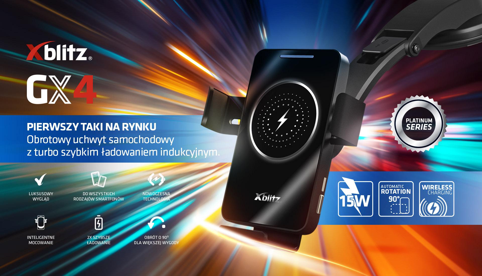 Xblitz GX4 - innowacyjny uchwyt