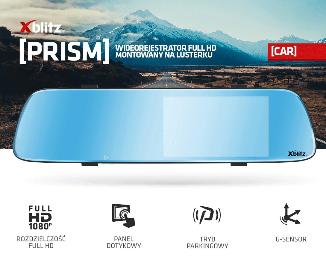 Wielofunkcyjna kamera samochodowa Xblitz prism