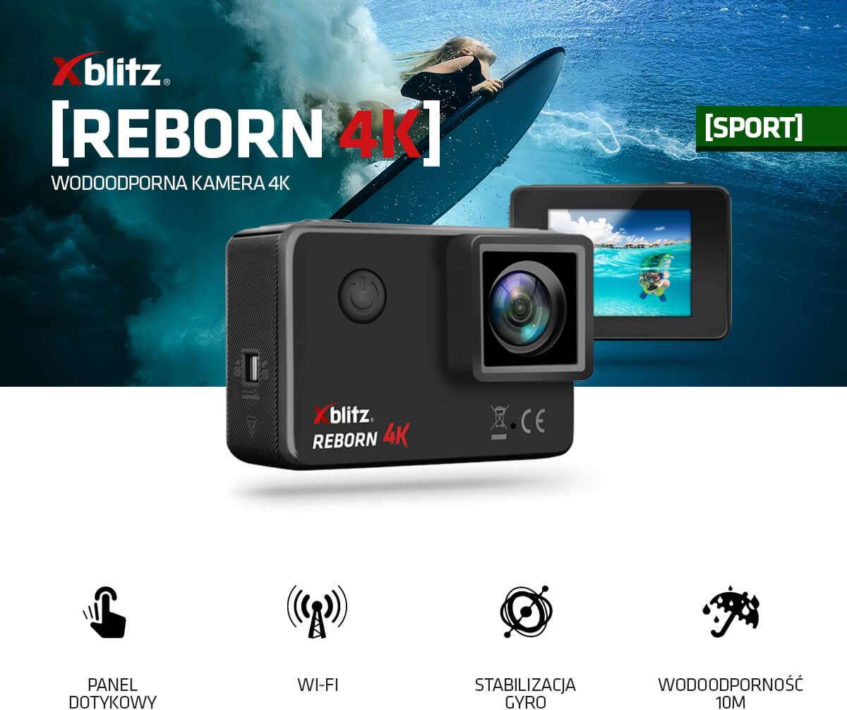 Wodoodporna kamera 4K Xblitz Reborn 4K