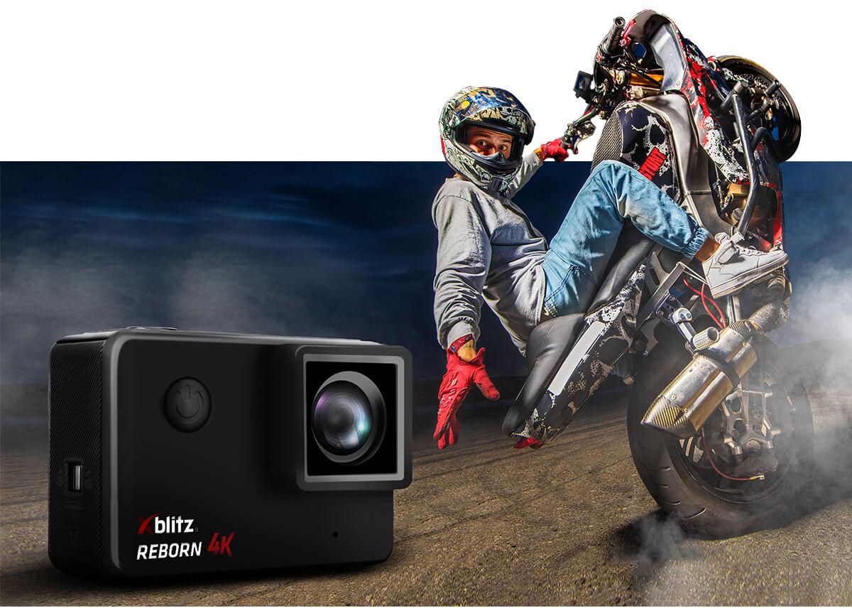 kamera sportowa Xblitz z szerokim kątem widzenia