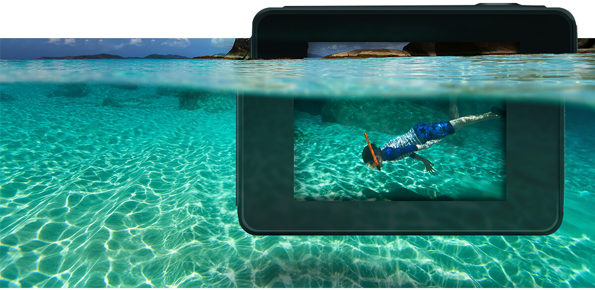 Wodoodporna kamera Xblitz Reborn 4K