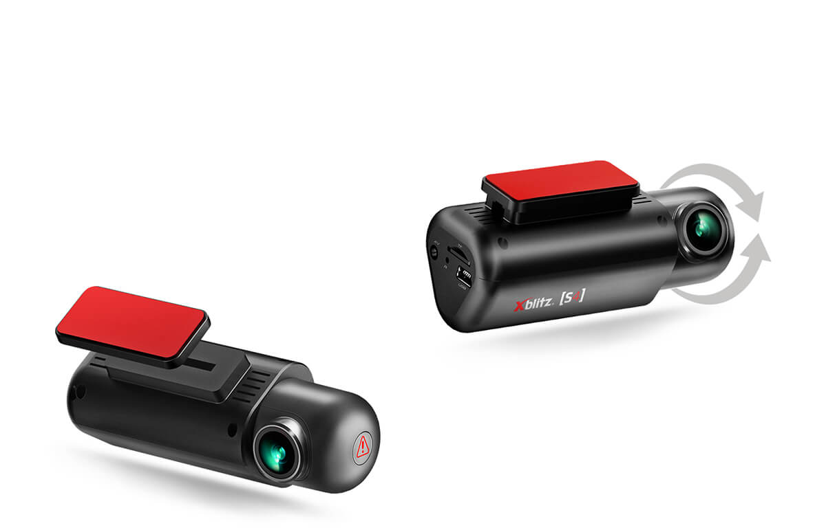 Kamera samochodowa FULL HD Xblitz S4