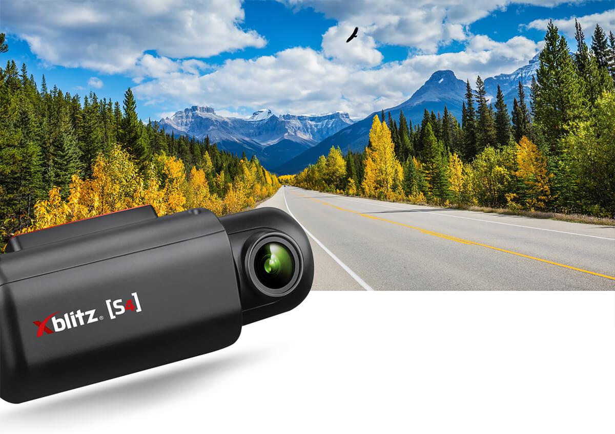 Wideorejstrator jazdy Xblitz S4 FULL HD