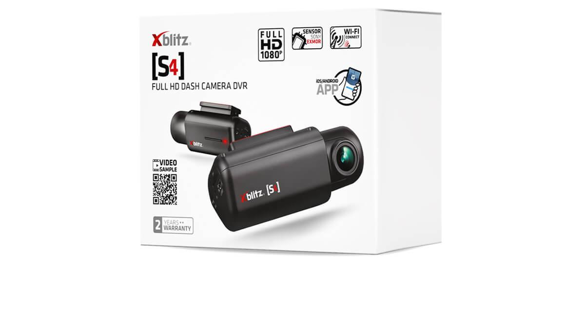Pudełko do wideorejestratora Xblitz S4