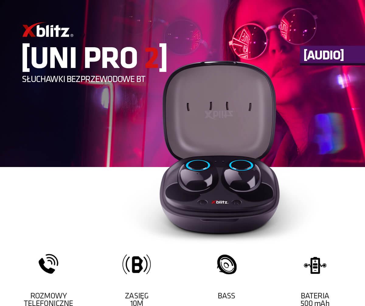 Słuchawki bezprzewodowe BT Xblitz Uni Pro 2