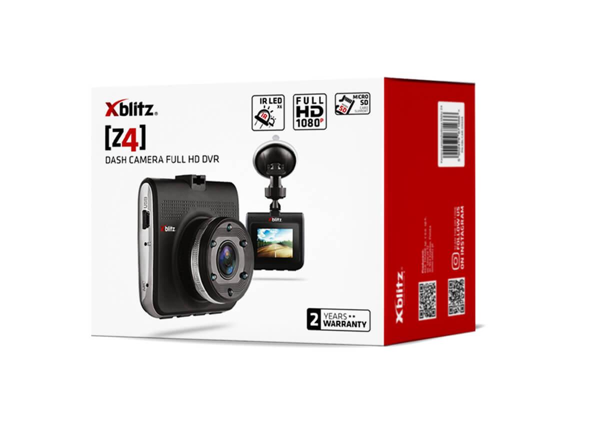 Pudełko kamery samochodowej Full HD Xblitz Z4