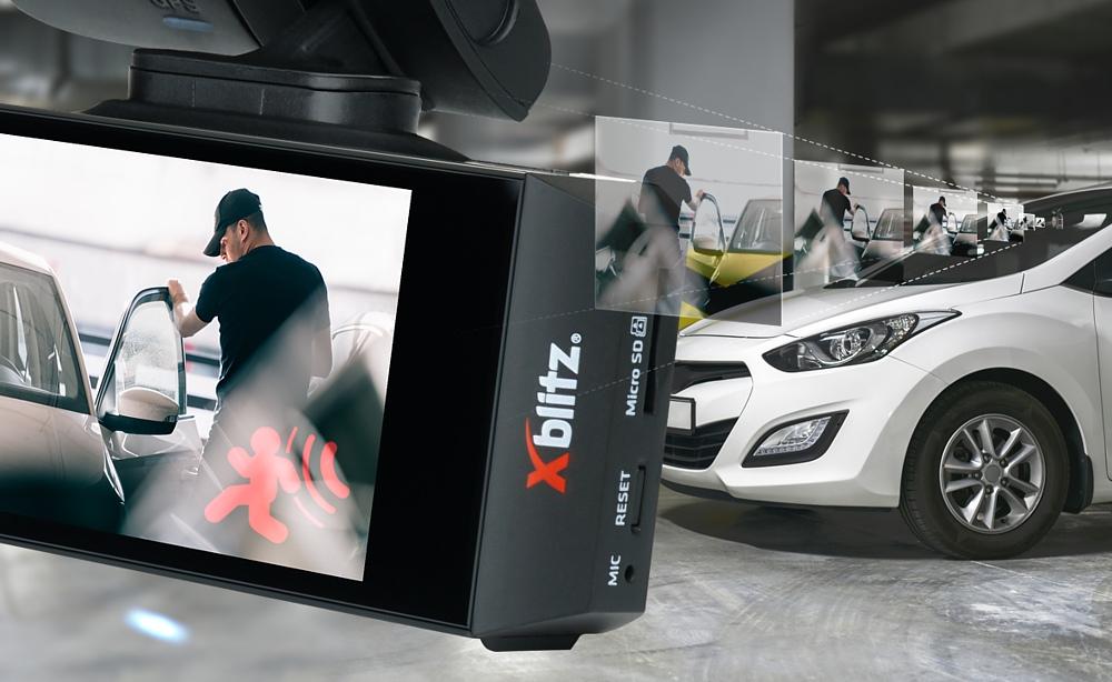 Xblitz v2 dashcam GPS with active recording