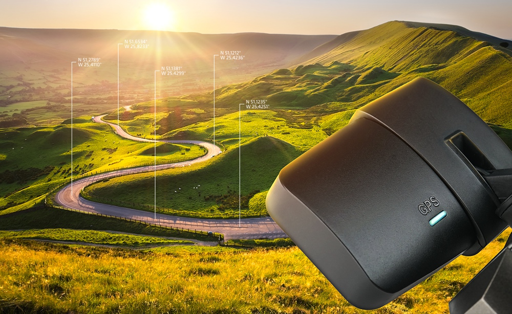 Xblitz v2 kamera samochodowa GPS