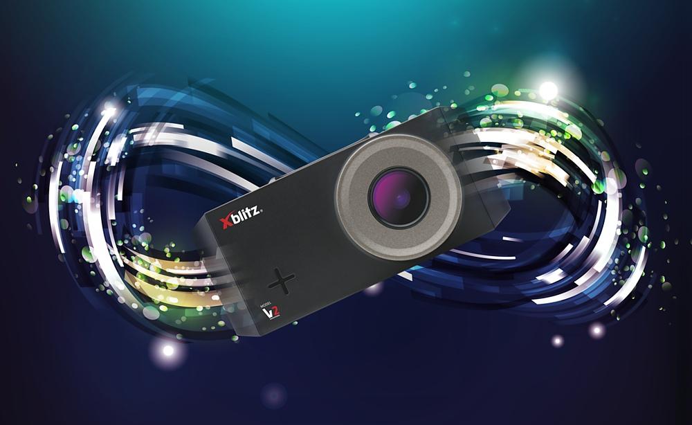 Nowość! Kamera samochodowa Xblitz v2 nagrywanie w pętli