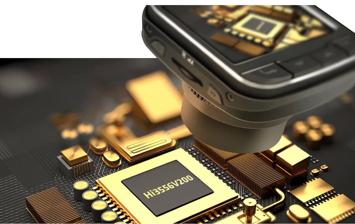 kamerki samochodowe z procesorem HI SILICON