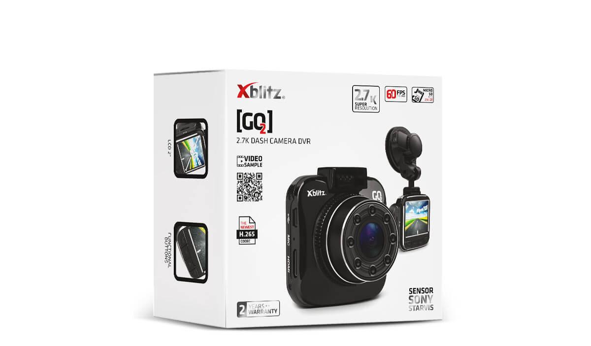 Xblitz GO 2 Kamera samochodowa przyszłości