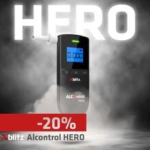 """Nie zapominajcie, że teraz z kodem """"liber"""" kupicie nasz topowy alkomat Xblitz Alcontrol Hero z 20% zniżką! MIłego weekendu 🍻"""